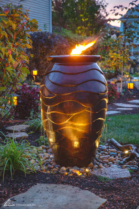 Enjoy your Water Feature at Night!